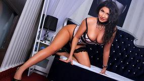 AkiraLeone:n kuuma kamera-show – Nainen sivulla Jasmin
