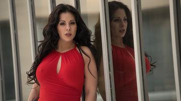 KimberlyDolce:n kuuma kamera-show – Nainen sivulla Jasmin